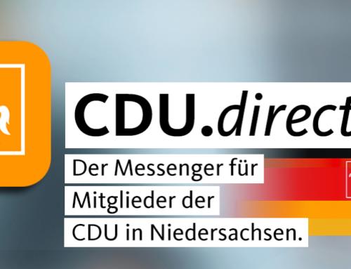 Sicher und schnell kommunizieren mit CDU.direct!