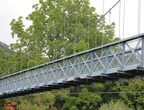 Umfrage der CDU zur Nutzung der gesperrten blauen Hängebrücke in Hann. Münden